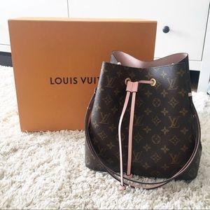 Louis Vuitton neonoe drawstring bag